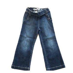 3T Baby Gap flared blue jeans